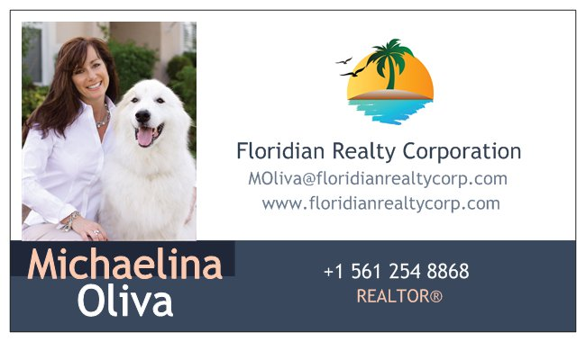 6d499766-96bb-44e0-9529-8cc7f07fa88eFloridian Realty Business Card Front